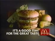 McDonald's URA TVC - Big Mac - 1984