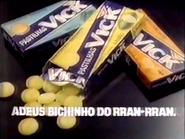 Pastilhas Vick TVC 18-4-1992