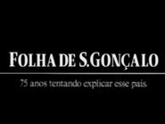 Folha de S Goncalo TVC 1997