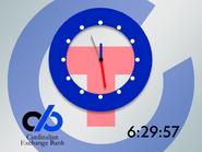 GTC 1998 clock (Cardinalian Exchange Bank)