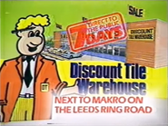 Discount Tile Warehouse AS TVC 1985