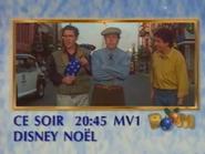 MV1 promo - Disney Noel - Noel 1990