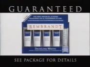 Rembrandt Dazzling White TVC 1997 - 2