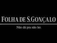 Folha de S Goncalo TVC 1997 - 2