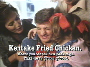 KFC AS TVC 1983 - New Pack Sign - 2