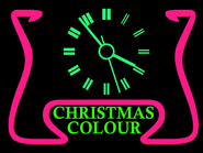 GRT1 Christmas clock 1972