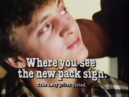 KFC AS TVC 1983 - New Pack Sign - 1