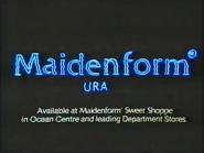 Maidenform GH TVC 1985