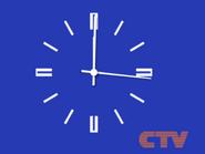 CTV Challien clock 1989