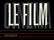 Canal Plus bumper - Le Film - 1992