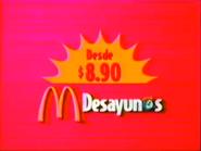McDonald's LA Desayunos TVC 1997