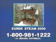 Eurde Steam 2000 URA Spanish TVC 1996