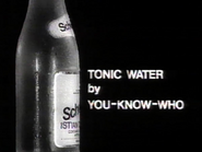 Schweppes Tonic Water AS TVC 1967