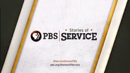 PBS system cue - Stories of Service - URL and Hashtag - 2014