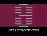 GRT 9 O Clock News 1982 opening