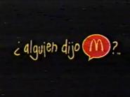 McDonalds 1998 URA Spanish TVC