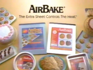 AirBake Insulated Bakeware URA TVC 1995