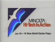 Minolta High Tech in Action GH TVC 1987