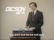 Captura dicson beta 1980