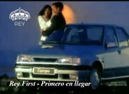 Comerciales rey first 1994