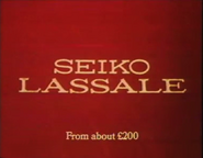 Seiko Lassale AS TVC 1982