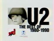 U2 The Best of 1980-1990 RL TVC 1998