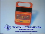 Texiya Instruments GH TVC - Speak & Spell - 1981