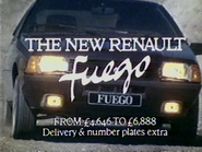 Renault Fuego AS TVC 1981