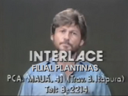 Interlace PS TVC 1985
