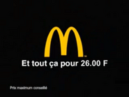 French McDonald's Happy Meal TVC 2004 - 3
