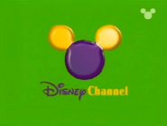 Disney Channel ID - Purple Blob (1999)