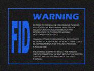 Omega FID screen 1981 - VHS