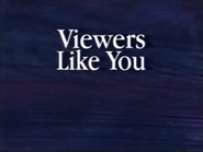 PBS fundship billboard - Viewers Like You - 1991