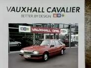 Vauxhall Cavalier AS TVC 1985