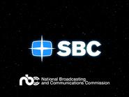 SBC startup slide - 1984