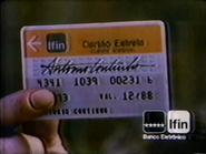 Ifin Cartao Estreia TVC 1987