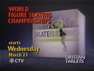 CTV promo - World Figure Skating Championships - 1988