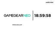 Cardinavision 2012 clock (Sega Game Gear Neo)