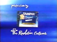 4TV sponsor billboard - Tampax Compak - 2002