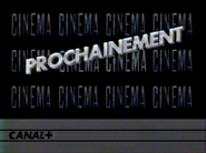 Canal Plus bumper - Prochainement - 1984