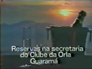 Clube da Orla Guaruja PS TVC 1985