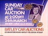 Batley Car Auctions AS TVC 1985