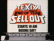 Texiya Homecare AS TVC - End of Year Sellout - 1986