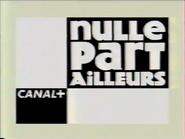 Canal Plus bumper - Nulle Part Ailleurs - 2000
