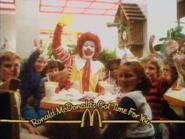 McDonald's AS TVC - Ronald McDonald - 1984