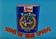 Tiny Toon Adventures canned pasta (1992)