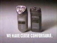 Norelco 955RX URA TVC 1991