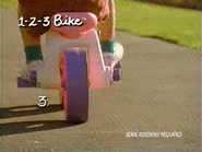 Playskool 1 2 3 Bike TVC 1994