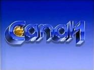 Diapositivo do Canal 1 da TN em 1990