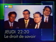 MV1 Savoir promo 1991